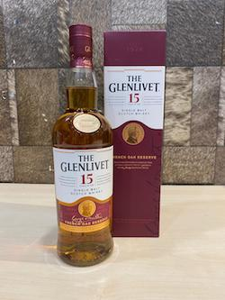 750ml Glenlivet 15yrs Single Malt Whisky/Glenlivet Whisky Singapore